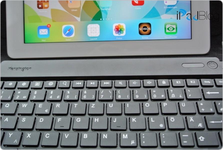 KENSINGTON K39561DE iPad 3 Tastatur