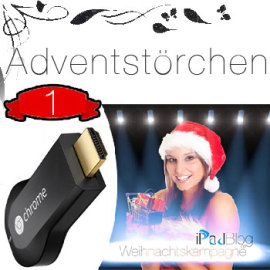 1-Chromecast Adventskalender