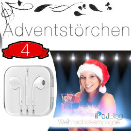 4-Earpods Adventskalender