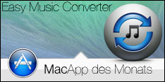 MacApp des Monats November 2014 - Easy Music Converter