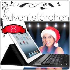 Beitragsbild zum 8. Törchen: Kensington Folio Keyboard für iPad 2/3