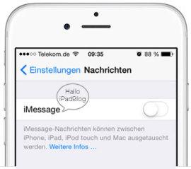 Abmeldung von iMessage via Online-Tool – das geht jetzt