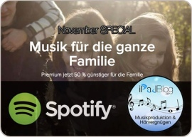 Spotify Family startet in Deutschland