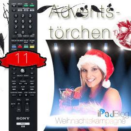 Beitrags ild zum 11. Adventstörchen – der Blu-Ray PS3 Remote