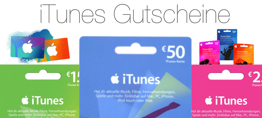 iTunes-Gutscheine