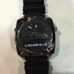 MARTIAN Smartwatch auf der CES 2015 in Las Vegas