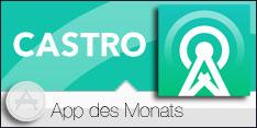 App des Monats Januar 2015 - CASTRO