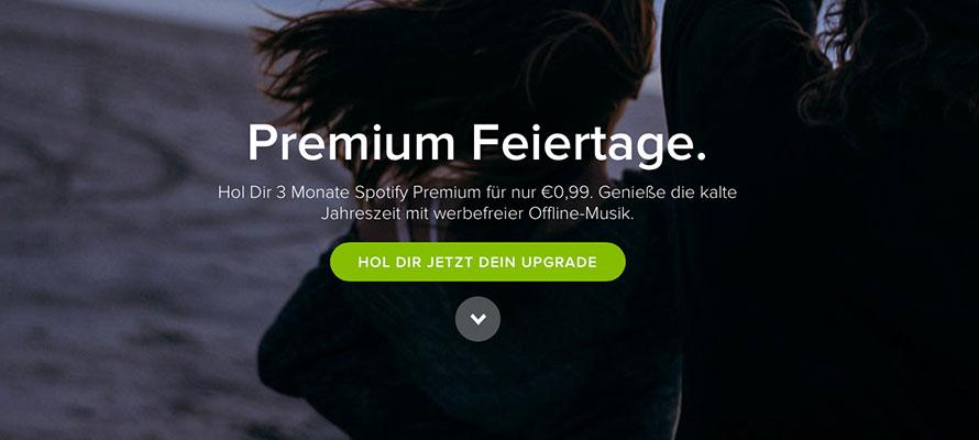 Spotify-Premium-feiertage