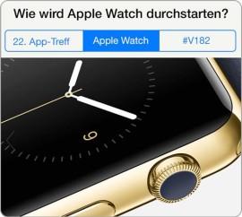 Beitragsbild zum 22. App-Treff und zur 182. Video episode des iPadBlog GetTogether Live-Event