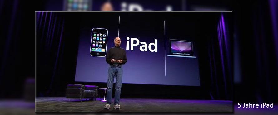 Steve Jobs präsentiert offiziell das iPad