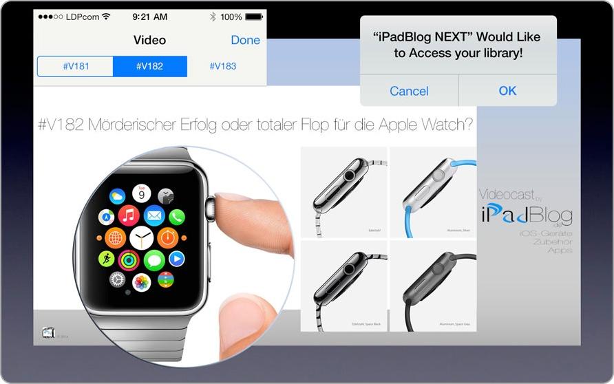Teaserbild zur 182. Videoepisode beim 22. App-Treff zum Erfolg der Apple Watch