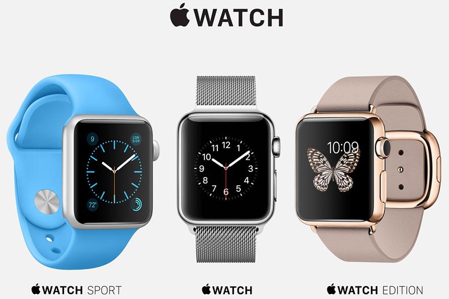 Die drei Apple Watch Variationen im Überblick