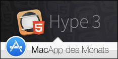 MacApp des Monats März 2015 - Hype 3
