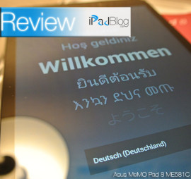 ASUS MeMo Pad 8 in der Review von iPadBlog.de
