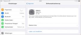 iOS 8.2 für iPad, iPhone und iPod touch