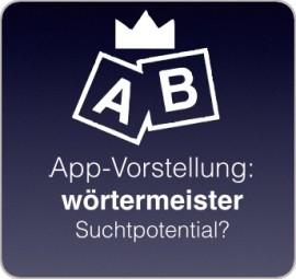 Beitragsbild zur App wörtermeister