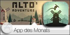 App des Monats April 2015 - ALTO's ADVENTURE