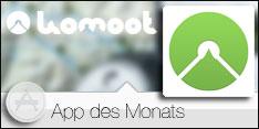 App des Monats Mai 2015 - komoot