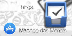 MacApp des Monats Mai 2015 - Things