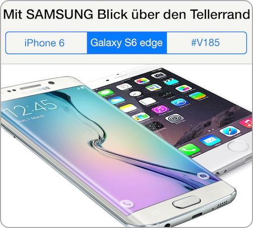 VERGLEICH IPHONE SAMSUNG S6