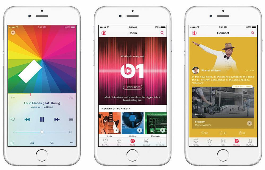 Apple Music startet am 30. Juni 2015 in Deutschland