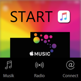 Start Apple Music in Deutschland