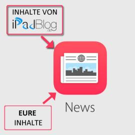 Euer Content bei NEWS von Apple