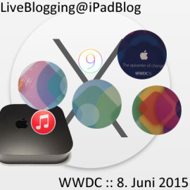 WWDC am 8. Juni 2015 – LiveBlogging Bereich