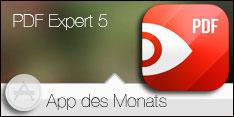"""App des Monats Juli 2015 - PDF Expert 5""""></a> <br>  <a href="""