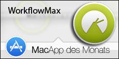 MacApp des Monats Juni 2015 – WorkflowMax