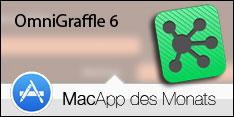 MacApp des Monats Juli 2015 – OmniGraffle 6