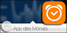 App des Monats August 2015 - Sleep Cycle alarm clock