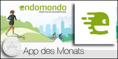 App des Monats September 2015 - Endomondo