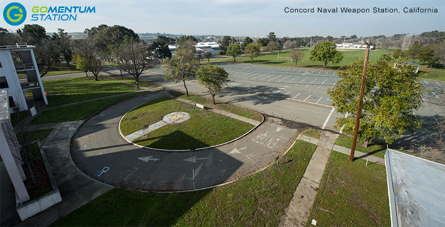 Concord Naval Weapon Station, California