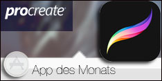 App des Monats November 2015 - Procreate></a>