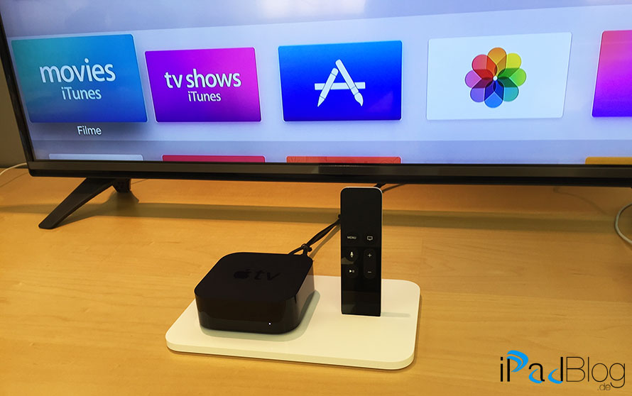 Die Settop Box Apple TV4