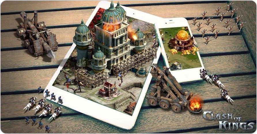 Clash of Kings für alle iOS-Geräte