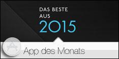 Apps des Monats Januar 2016 – Best of 2015