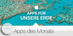 Apps des Monats April 2016 - Apps für die Erde