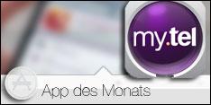 App des Monats Mai 2016 –My.tel