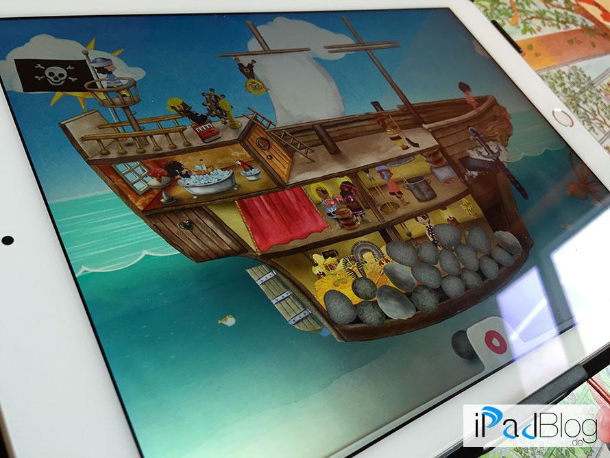 Auf dem Schiff bei Meine Piraten – wonderkind