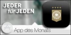 App des Monats Juni 2016 –DIE MANNSCHAFT