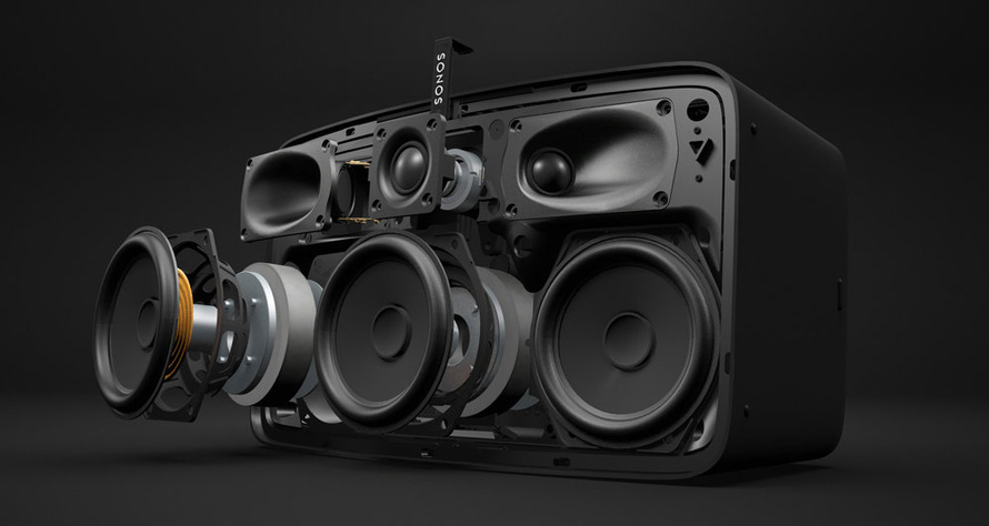 Sonos Play:5 in 3D