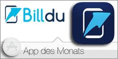App des Monats August 2016 –Billdu