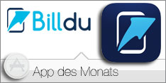 "App des Monats August 2016 –BillDu""></a> <br> <a href="