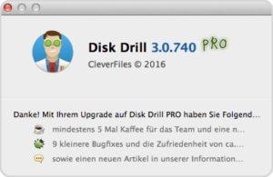 Disk Drill 3 Upgrade