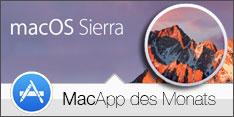 Software des Monats Oktober 2016 – macOS Sierra