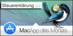 MacApp des Monats Mai 2017 – Steuererklärung