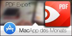 MacApp des Monats August 2017 - PDF Expert