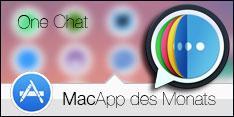 MacApp des Monats Dezember 2017 –One Chat